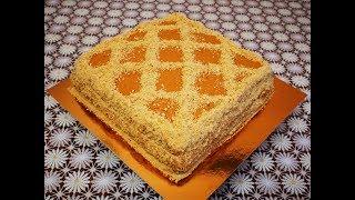 Торт ЧЁРНЫЙ РЫЦАРЬ с кремом на вареной сгущенке Рецепт торта ШОКОЛАДНЫЙ торт рецепт