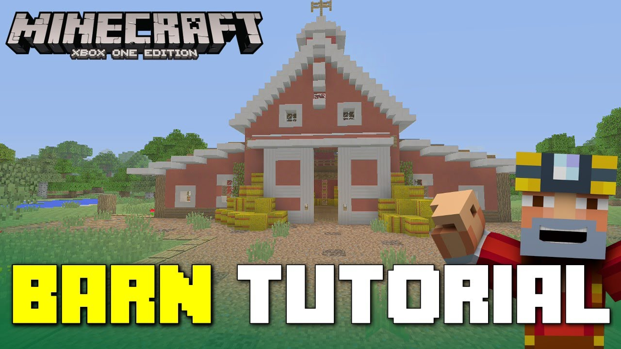 Minecraft Xbox One: How to Build a Barn!