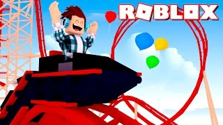 Roblox - MONTANHA RUSSA !!