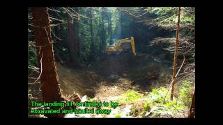Road and Stream Crossing Decommissioning in the Headwaters Forest Reserve