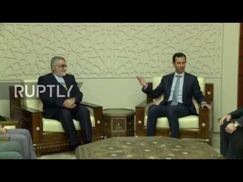 Syria: Assad thanks Iran for role in Syria victories