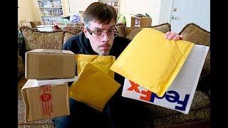 Mega Unboxing / Blu-ray Giveaway !!!