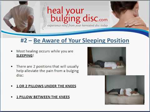 remedies for bulging disc, Human Body
