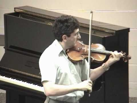Oleg Pokhanovski -- N. Paganini - Caprice No. 5 and Caprice No. 24. -- Music In Summer - 2010