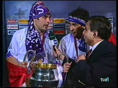 La Septima post-match interview with Raul and Morientes