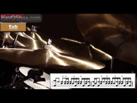 Free Drum Lessons | Vinnie Colaiuta Ghostnote Groove