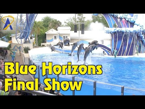 Final Blue Horizons dolphin show at SeaWorld Orlando