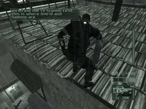 Splinter Cell Pandora Tomorrow Walkthrough Mission 7 Jakarta,Indonesia