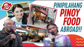 Mga Pinoy Restaurateur, Nagpasikat Ng Pinoy Foods Abroad | Bawal Judgmental | July 23, 2021