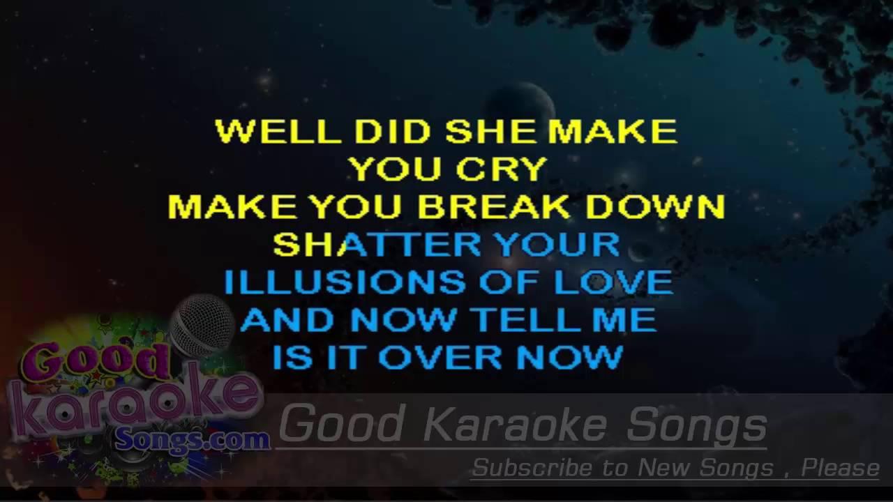 Download Gold Dust Woman -  Fleetwood Mac (Lyrics Karaoke) [ goodkaraokesongs.com ]