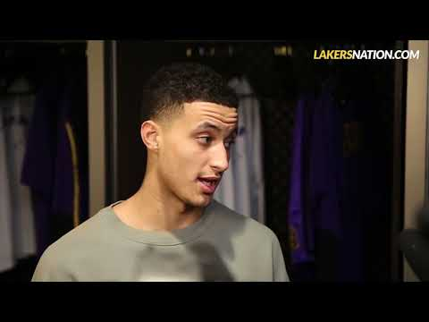 Kyle Kuzma Postgame Reaction if the Lakers can still make the Playoff's with 20 games left?