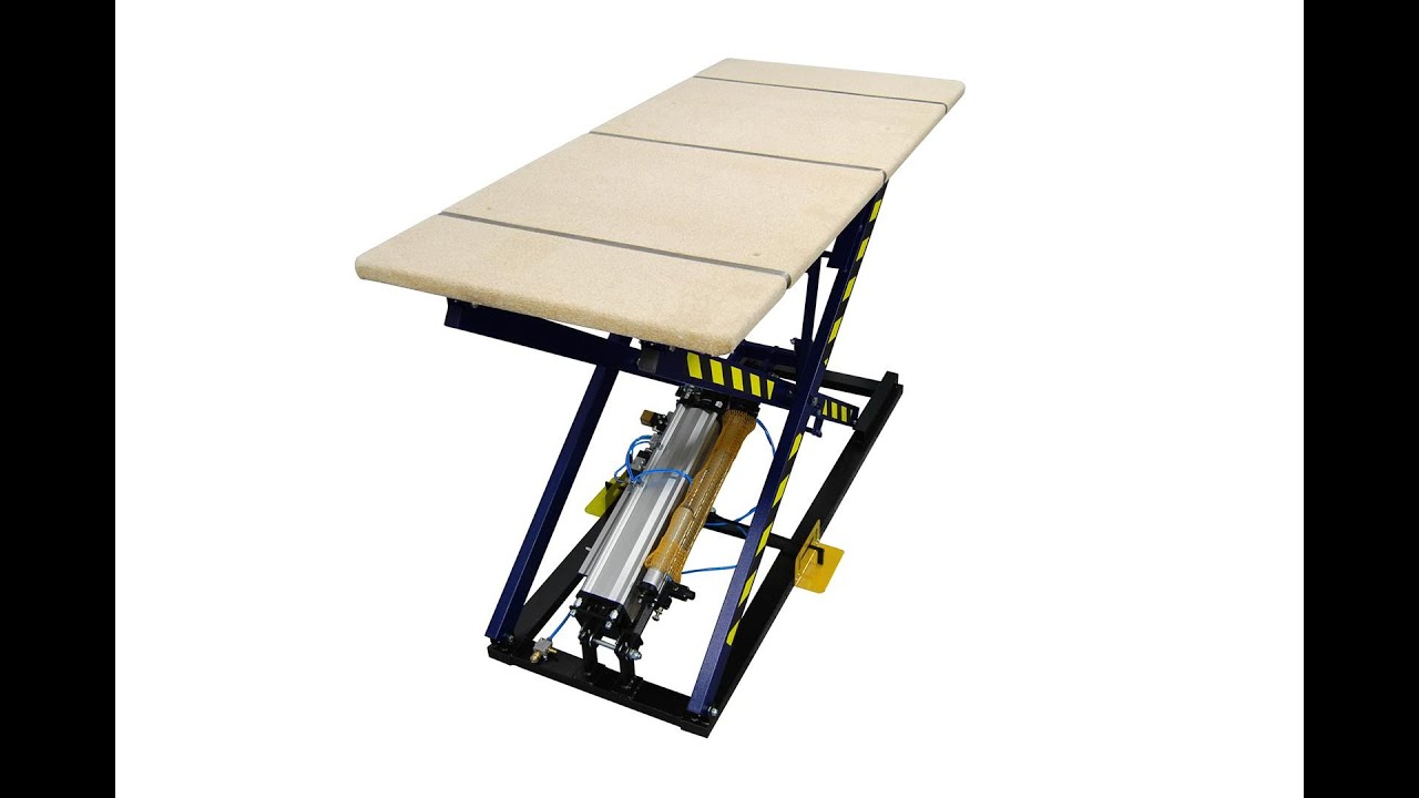 Adjustable Height Work Bench Rexel St 3 Kp Youtube