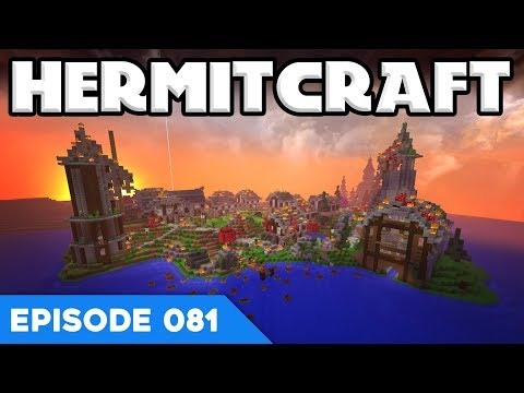 Hermitcraft V 081 | IT'S ALL ON FIRE?! 🔥 | A Minecraft Let's Play