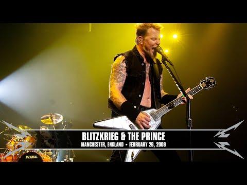 Metallica: Blitzkrieg & The Prince MetOnTour  Manchester, England  2009