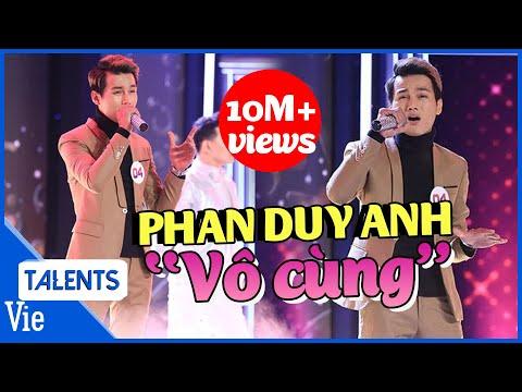 """Trấn Thành Liên Tục Nổi Da Gà Khi Nghe Phan Duy Anh Live Siêu Hit """"Vô Cùng"""" l Giọng Ca Bí Ẩn Tập 1"""