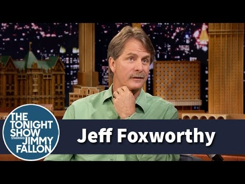 Jeff Foxworthy Shares the Origin of His Famous Redneck Jokes