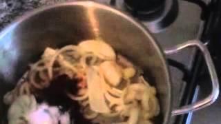 כבדי עוף ברוטב עגבניות