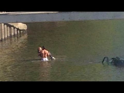 Brave Body Builder Rescues Woman from Sinking Car: \'It\'s The Right Thing to Do\'