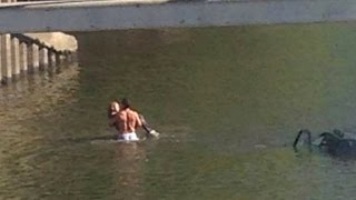 Brave Body Builder Rescues Woman from Sinking Car: 'It's The Right Thing to Do'