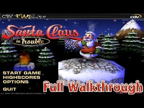 Santa Claus In Trouble - Full Walkthrough