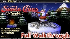Santa Claus In Trouble - Full Walkthrough