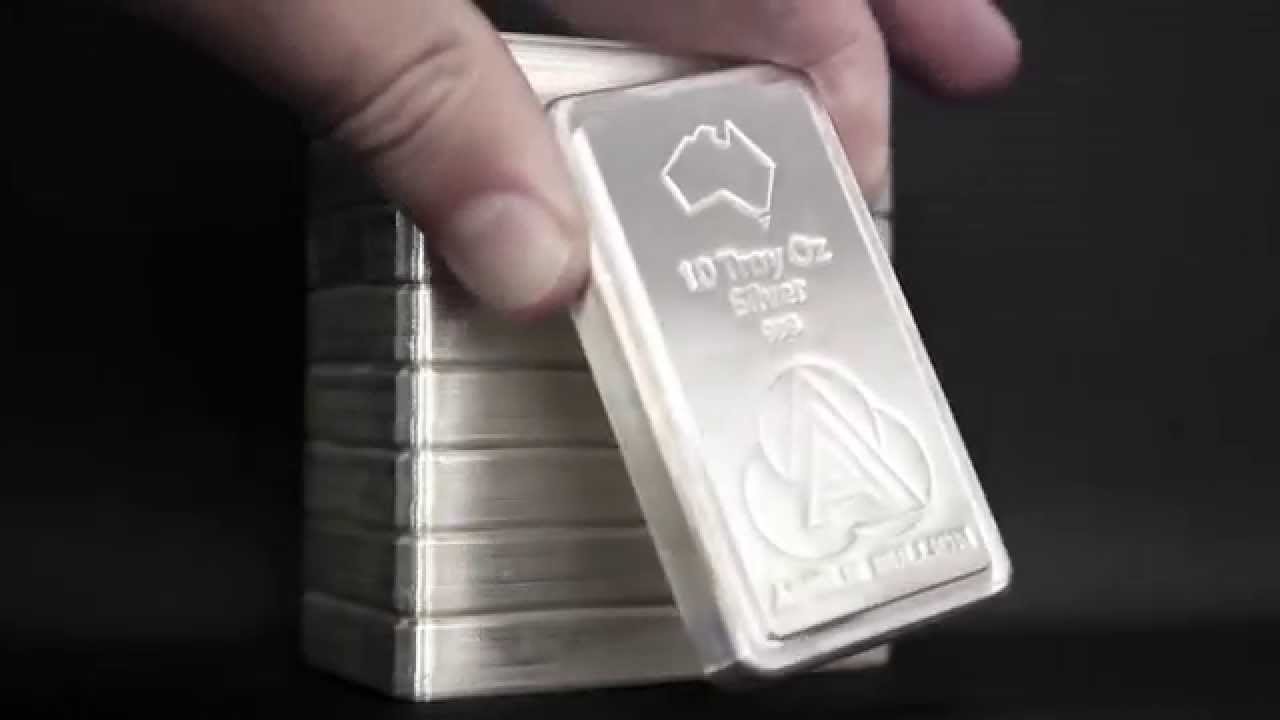 The Ainslie Bullion Silver Stacker Youtube