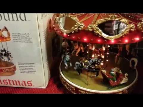 Mr Christmas Marquee Merry go Round Carousel