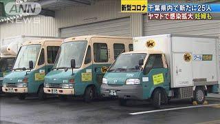 千葉で25人感染 ヤマト運輸で感染拡大 妊婦も(20/04/06)