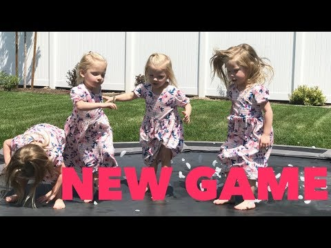 A NEW TRAMPOLINE GAME| SEEING TIM MCGRAW AND FAITH HILL