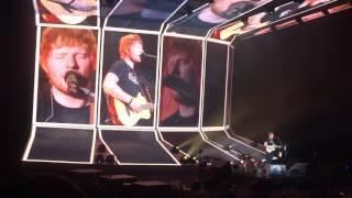 Ed Sheeran - Castle On The Hill - o2 Arena 1/5/17