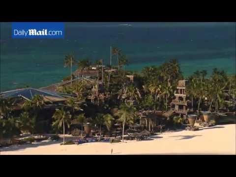 Aerial footage shows Peter Nygard's palatial Bahamas house   Daily Mail Online