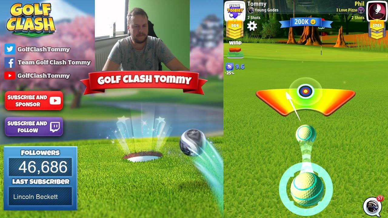 Golf Clash Livestream Opening Round 28 Expert Summer Major Tournament Youtube