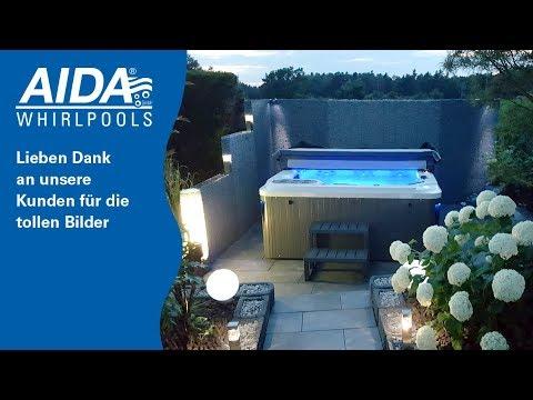 AIDA Whirlpools im Garten, auf der Terrasse und Balkon - ganzjährig ...