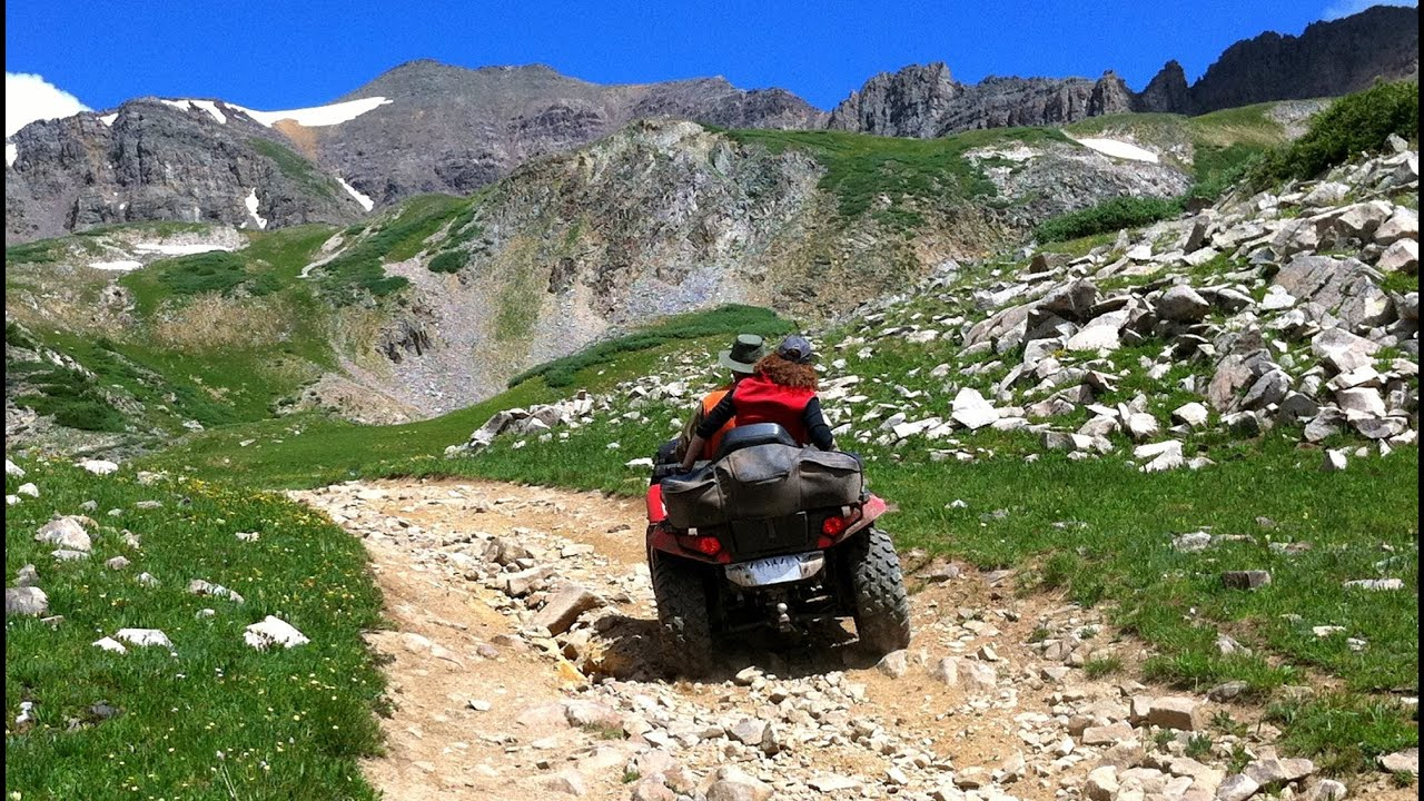 Pearl Pass Atv Riding Crested Butte Colorado Youtube