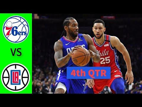 Los Angeles Clippers vs. Philadelphia 76ers Full Highlights 4th Quarter   NBA Season 2021