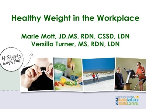 Healthy Weight in the Workplace: Community Health Summit 2014