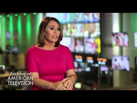 Maria Elena Salinas discusses how she became a network anchor - EMMYTVLEGENDS.ORG