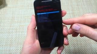 Motorola Moto E 4G How to Hard Reset or Master Reset your phone