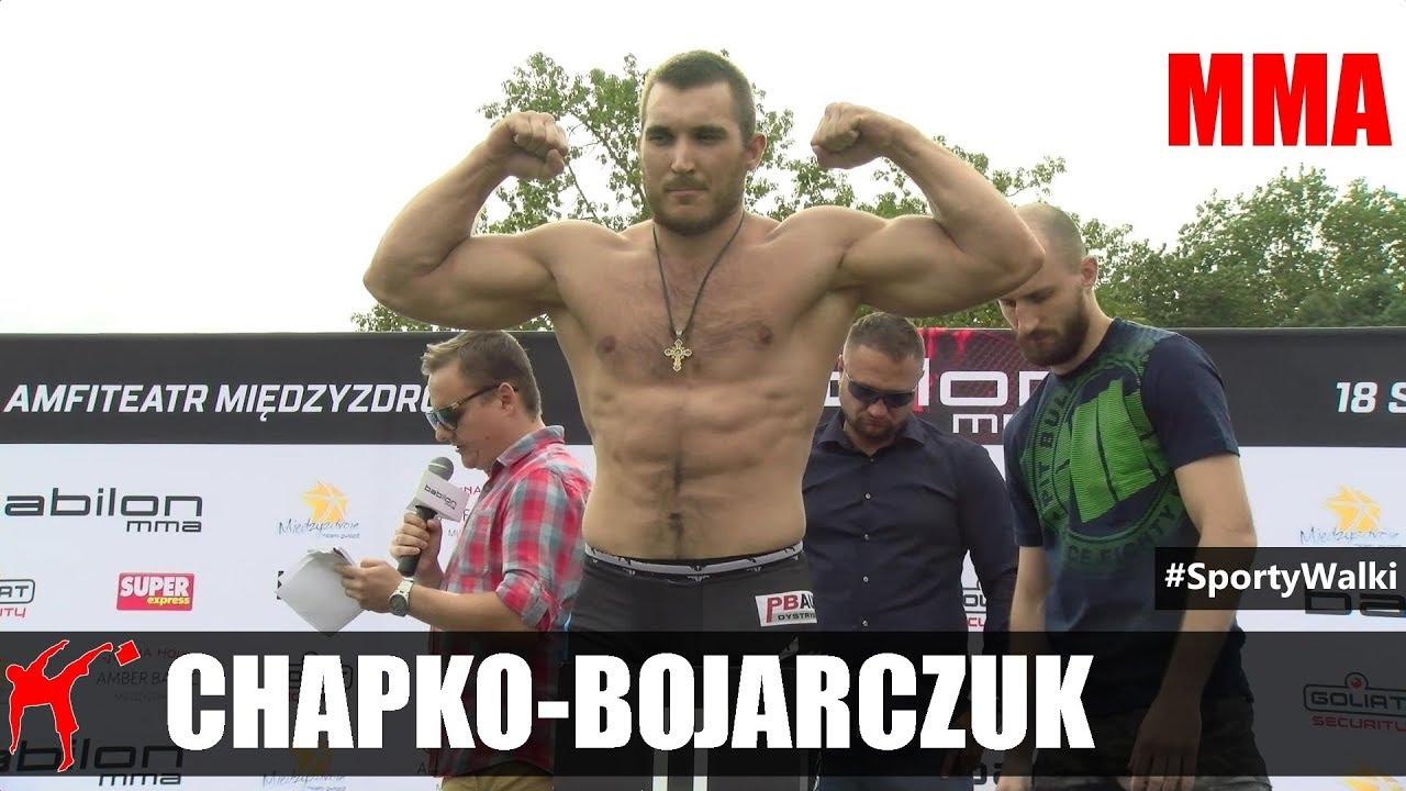 Babilon Mma  Ruslan Chapko Vs Nikolaj Bojarczuk