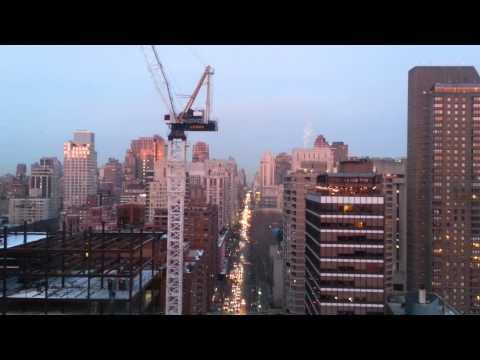 Roosevelt Island Sunset Travel from Manhattan