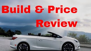 2019 Buick Cascada Sport Touring Luxury Convertible - Build & Price Review: Features, Specs