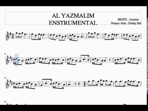 Selvi Boylum Al Yazmalım - Ney Dersleri & Solfej