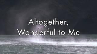 Here I Am to Worship -Tim Hughes (Lyrical video)