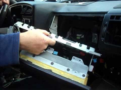 VW-B4 замена радиатора печки-1