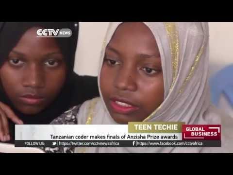 Tanzanian coder makes finals of Anzisha prize awards