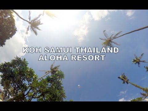 Koh Samui Lamai Beach Aloha Resort Thailand April 2016