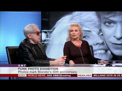 Debbie Harry and Chris Stein from Blondie talk to Karin Giannone on BBC