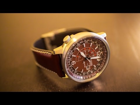 Citizen Nighthawk Havana Edition BJ7010-17W - watch review