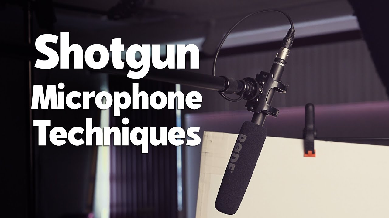 Audio Recording Basics: Using Shotgun Microphones for