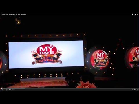Fashion Show at MyDay 2015 - Igate Bangalore